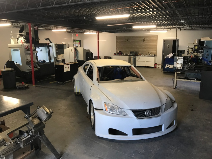 Lexus race car – Speed Machine LLC.